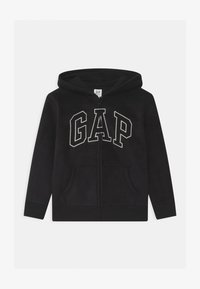 GAP - BOY HOOD - Fleecejacke - true black - 0