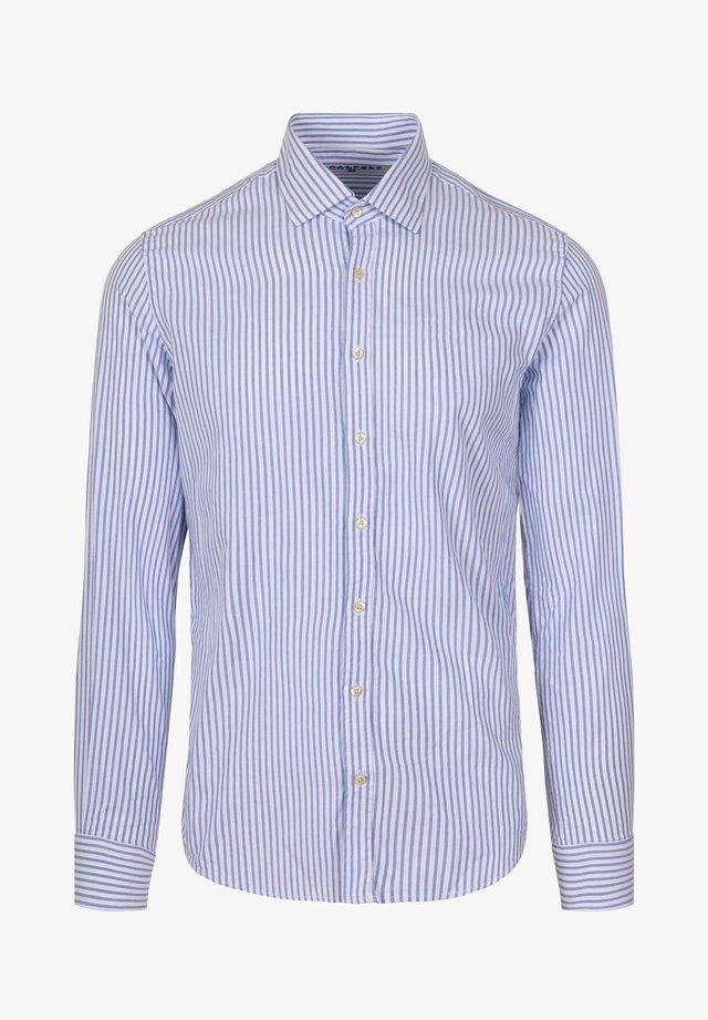 Zakelijk overhemd - skyblue stripes