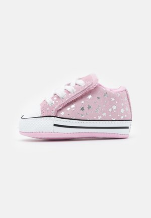 CHUCK TAYLOR ALL STAR CRIBSTER - First shoes - pink glaze/silver/white