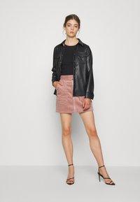 JDY - KIRA LIFE - Pencil skirt - woodrose - 1