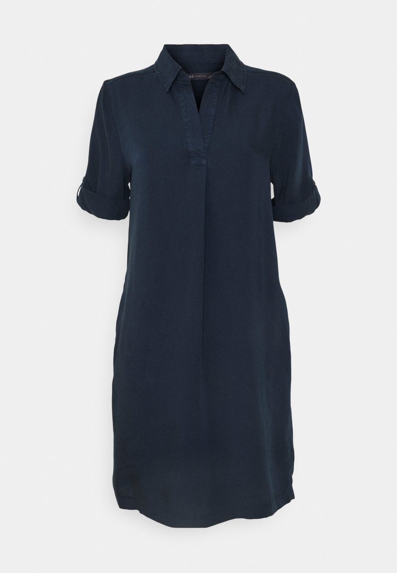 Marks & Spencer London - COLLARED - Sukienka letnia - dark blue