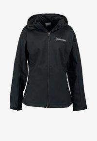 Columbia - CASCADE RIDGE - Soft shell jacket - black - 8