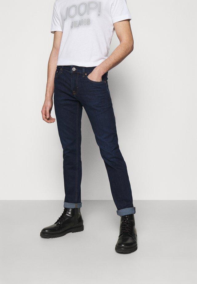 MITCH - Jeans a sigaretta - dark blue