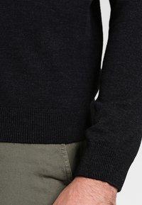 Farah - GOSFORTH ROLL NECK EXTRA  - Stickad tröja - dark asphalt marl - 4