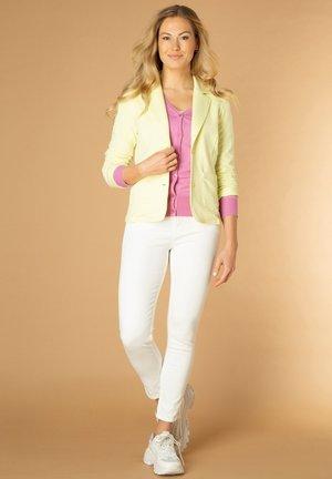 MILAN - Blazer - pastel yellow