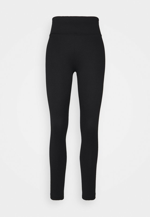 YARA LEGGINGS - Pyjamabroek - black