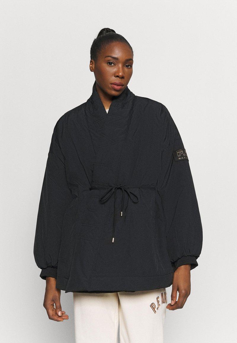 P.E Nation - TIE BREAK JACKET - Training jacket - black