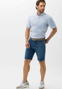 BRAX - STYLE BALI - Denim shorts - blue - 1