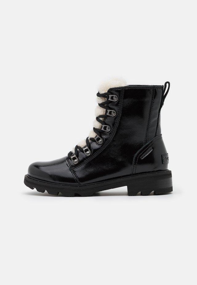 LENNOX LACE COZY - Veterboots - black