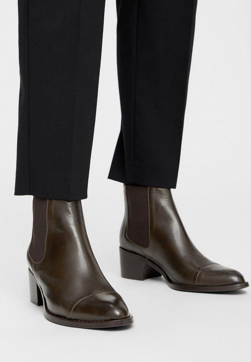 Bianco - Ankle boots - khaki