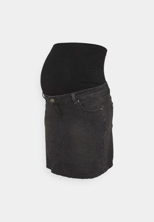 Minigonna - washed black