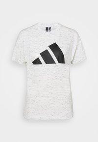 WIN 2.0 TEE - Print T-shirt - white melange