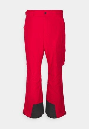 HERO SNOW PANT - Spodnie narciarskie - mountain red
