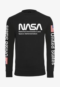 Mister Tee - NASA US CREWNECK - Sweatshirt - black - 0