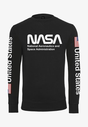 NASA US CREWNECK - Sweatshirt - black