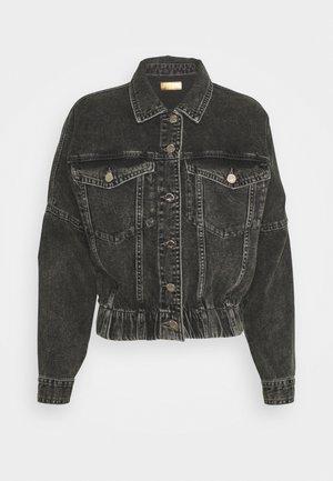 ONLRAVE LIFE JACKET - Denim jacket - black denim