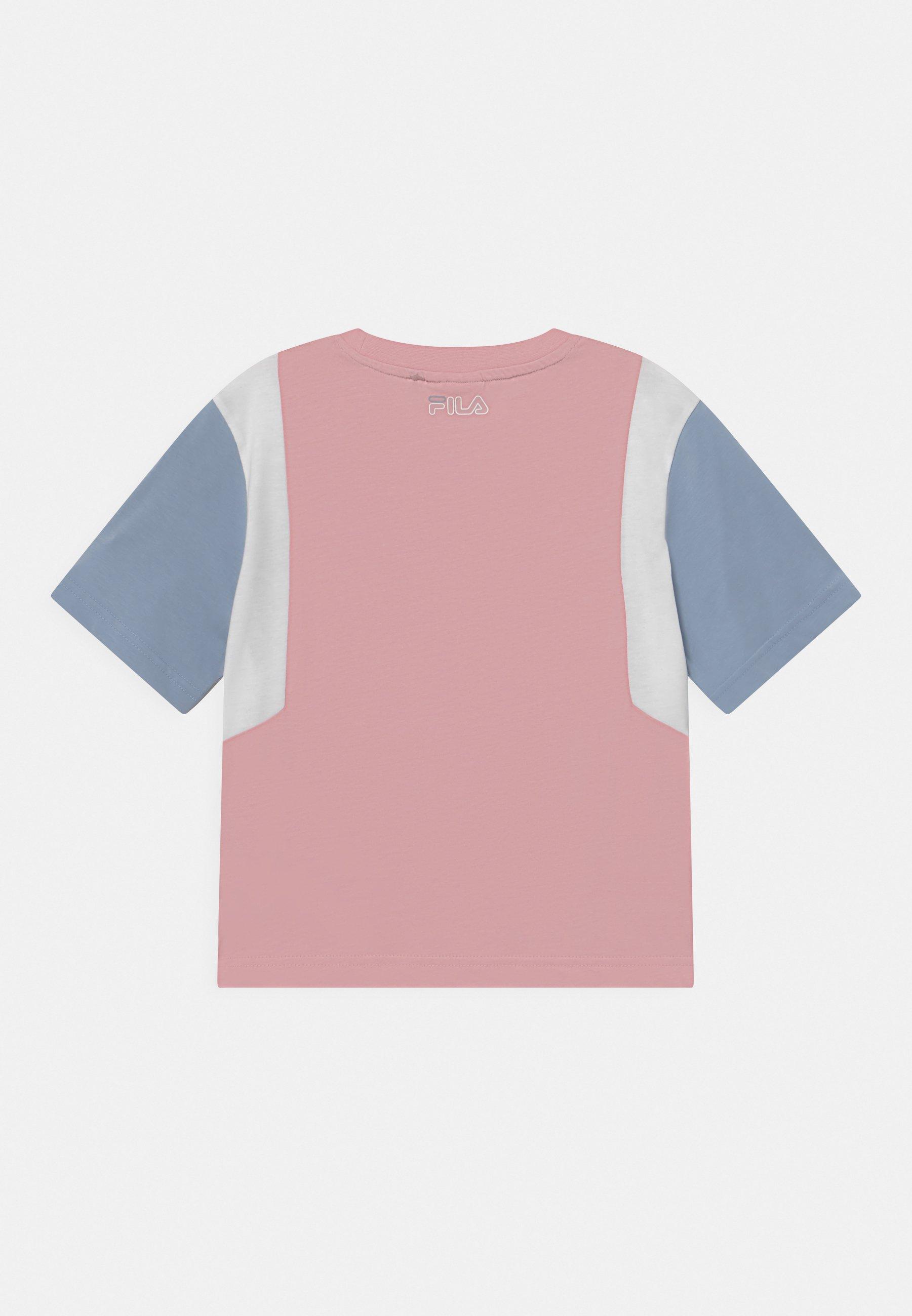 Kids SAMARA BLOCKED CROPPED TEE - Print T-shirt