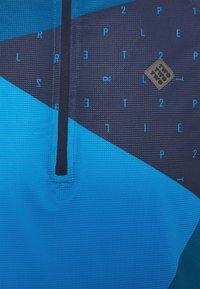 Triple2 - MEN - T-shirt print - mykonos blue - 2