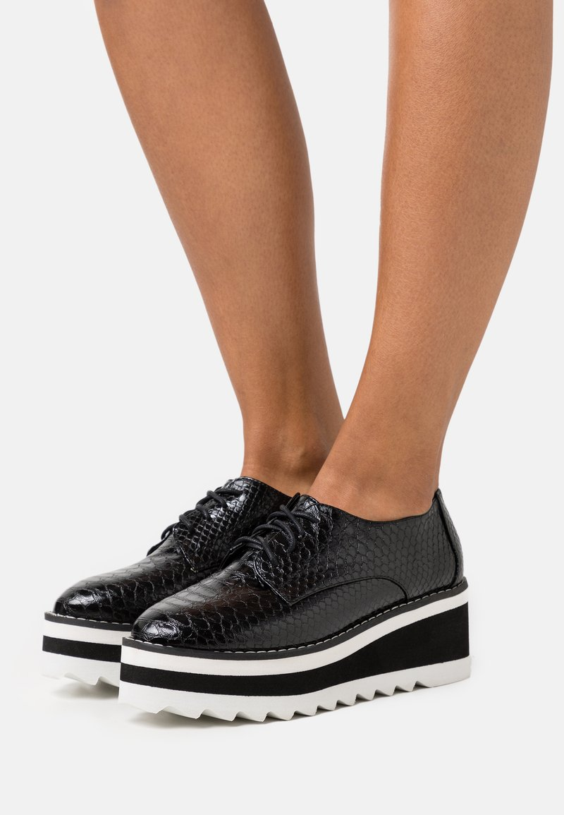 Madden Girl - MARSHALL - Lace-ups - black