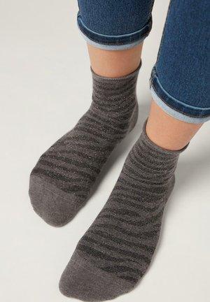 MIT DISNEY-MUSTER - Socks - ch-zebra grigio