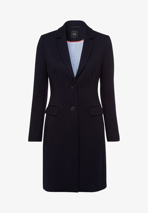 MIT KLAPPENTASCHEN - Short coat - dark blue