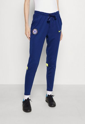 CHELSEA LONDON TRAVEL PANT - Club wear - blue void/opti yellow