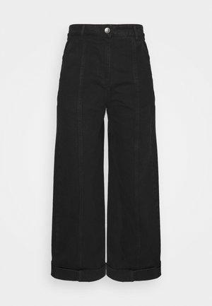 CASSATA PANTS - Džíny Straight Fit - black