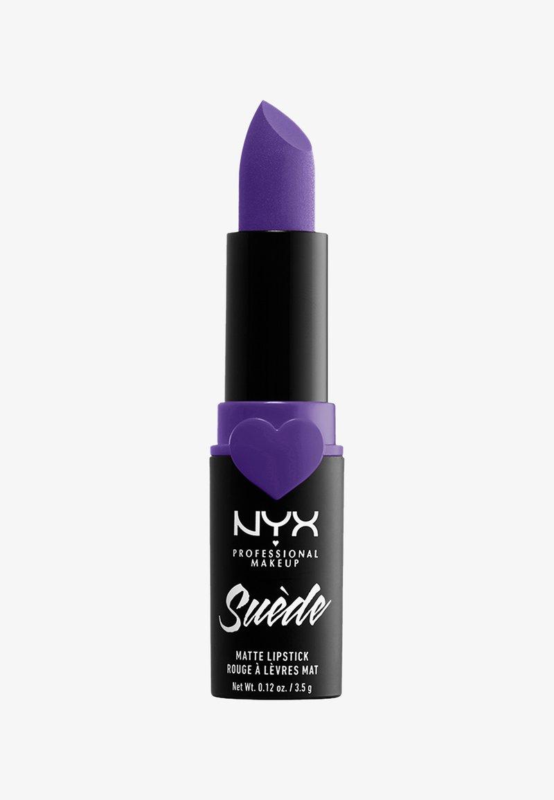Nyx Professional Makeup - SUEDE MATTE LIPSTICK - Pomadka do ust - 16 cyberpop