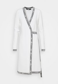 KARL LAGERFELD - WRAP DRESS - Jumper dress - white - 0