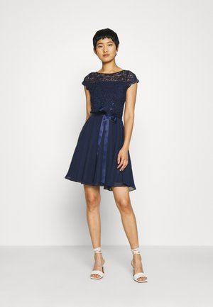 DRESS - Cocktail dress / Party dress - marine