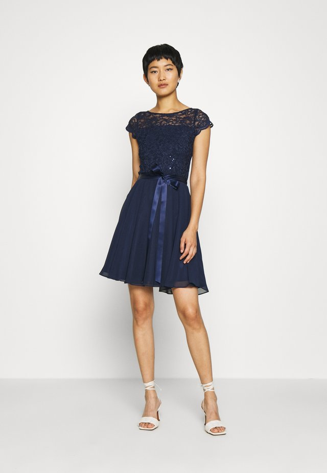 DRESS - Cocktailjurk - marine