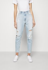 Calvin Klein Jeans - MOM - Jeansy Relaxed Fit - blue - 0