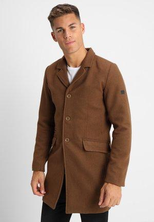 MATHIEU SOLID - Classic coat - camel