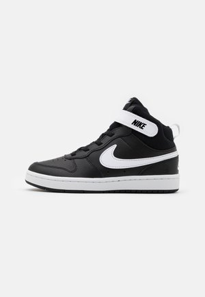 COURT BOROUGH MID 2 UNISEX - Sneakersy wysokie - black/white