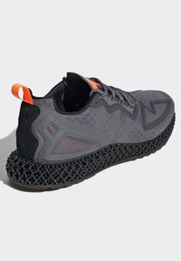 adidas Originals - ZX 4D - Sneakers basse - grey four core black solar orange - 3