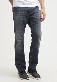 TOM TAILOR - MARVIN - Straight leg jeans - mid stone wash denim - 0