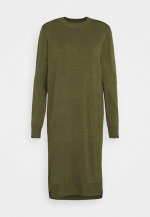 DAVILA DRESS - Jumper dress - army green melange