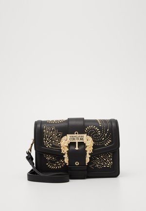 SHOULDER BAG COUTURE STUDS - Handtas - nero