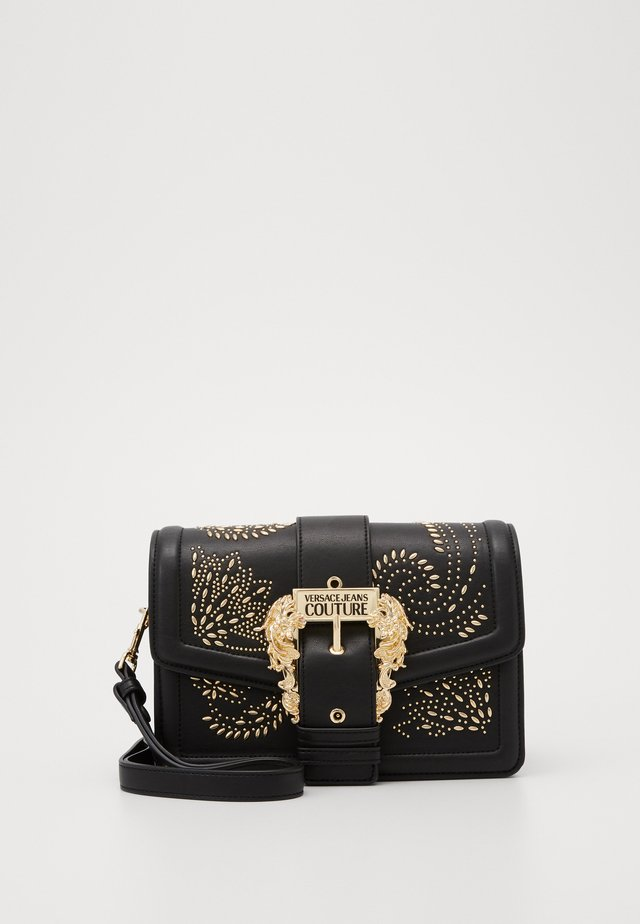 SHOULDER BAG COUTURE STUDS - Handbag - nero