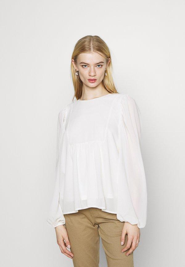 Vero Moda VMHADDIE - Bluzka - birch/beżowy INZC