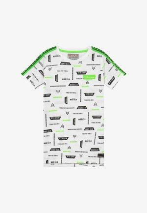 ROBERT - Print T-shirt - white