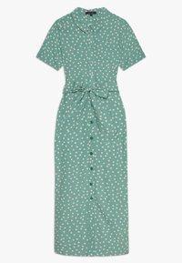 King Louie - ROSIE MIDI DRESS DOMINO DOT - Shirt dress - spar green - 0