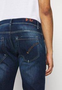 Dondup - PANTALONE GEORGE - Slim fit jeans - blue denim - 5