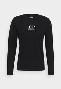 C.P. Company - Top sdlouhým rukávem - black - 4