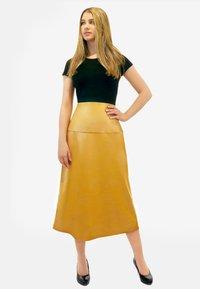 Aline Celi - CARINE - A-line skirt - caramel - 1