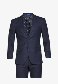 Limehaus - MINI CHECK SUIT - Suit - navy - 8