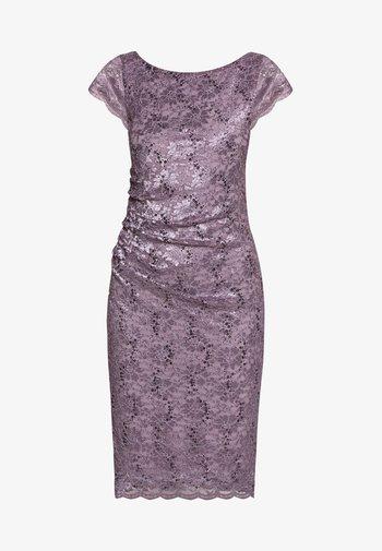 Koktejlové šaty/ šaty na párty - grau/violett