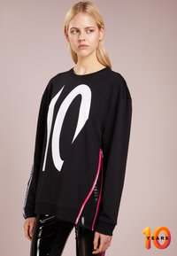 KARL LAGERFELD - TERRY - Sweater - black /white - 0