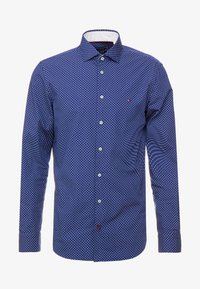Tommy Hilfiger Tailored - WASHED PRINT CLASSIC SLIM SHIRT - Formal shirt - blue - 4