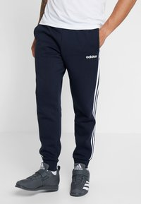 adidas Performance - Tracksuit bottoms - legend ink/white - 0